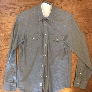 AG button down shirt. Great condition barely used
